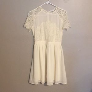 Off white piper lime dress
